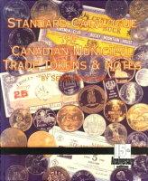 Photo de la couverture de : Serge Pelletier; 1993. Standard catalogue of Canadian municipal trade tokens. St. Eligius Press, Sainte-Julie, Quebec, Canada.