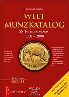 Photo de la couverture de : Gerhard Schön; 2020. Weltmünzkatalog / 20. Jahrhundert: 1901-2000 (47. Auflage). Gietl Verlag, Regenstauf, Germany.