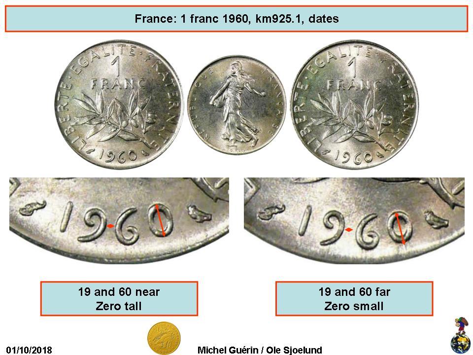 1 Franc Semeuse Nickel Tranche Striee France Numista