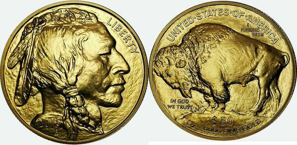 50 Dollars Quot American Buffalo Quot 201 Tats Unis Numista