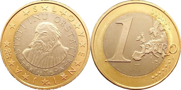 1 Euro Slovénie Numista