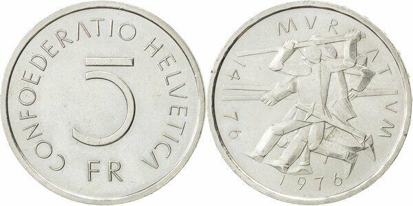 5 Francs Bataille De Morat Suisse Numista