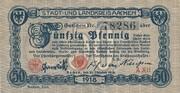 50 Pfennig (Aachen, Stadt- und Landkreis) – avers
