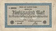 50,000 Mark (Aachen, Stadt- und Landkreis) – avers