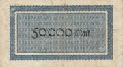 50,000 Mark (Aachen, Stadt- und Landkreis) – revers