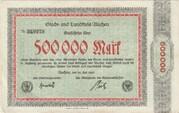 500,000 Mark (Aachen, Stadt- und Landkreis) – avers