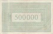 500,000 Mark (Aachen, Stadt- und Landkreis) – revers