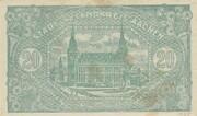 20,000,000 Mark (Aachen, Stadt- und Landkreis) – revers