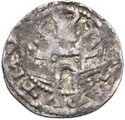 1 pfennig Friedrich II. – revers