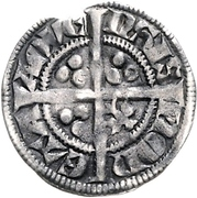 1 Sterling - Ludvig IV. von Bayern – revers