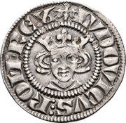 1 Sterling - Ludwig IV. der Bayer – avers