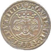2 sterling Wilhelm I. de Julich – avers