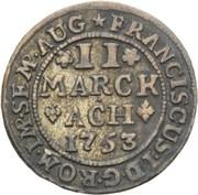 2 Marck - François I – revers