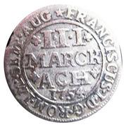 3 marck - François I – revers