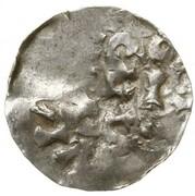 1 Denar -  Heinrich II – revers