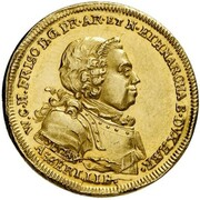 1 Ducat (Treaty of Aix-la-Chapelle & 100th Anniversary of Dutch Independence) – avers
