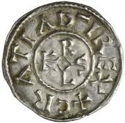 1 Denar - Karl der Kahle – avers