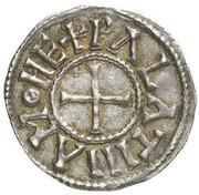 1 Denar - Karl der Kahle – revers