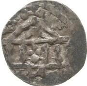 1 Denier - Heinrich II – revers