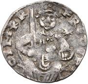 1 pfennig Friedrich II. – avers