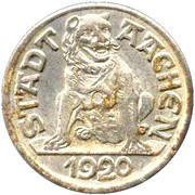 10 pfennig - Aachen – avers