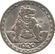 25 pfennig - Aachen – revers