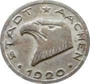50 pfennig - Aachen – avers