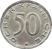 50 pfennig - Aachen – revers
