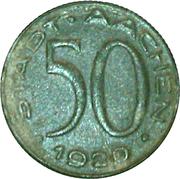 50 pfennig - Aachen (Alfred Rethel) – avers