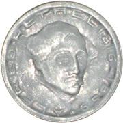 75 pfennig - Aachen (Alfred Rethel) – revers