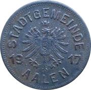 50 pfennig - Aalen – avers