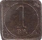 1 pfennig - Aalen – revers