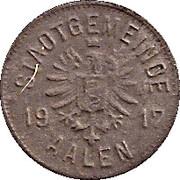 5 pfennig - Aalen – avers