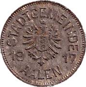 10 pfennig - Aalen – avers