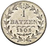 1 batzen -  avers