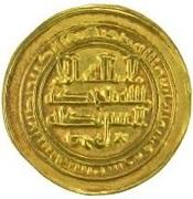 Amiri Dinar - al-Muqtadir  -  avers