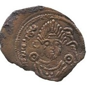Pashiz / Fals - Daray (Arab-Sasanian) -  avers