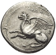 Drachm - Nymphagores – avers