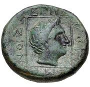 Bronze Æ18 - Erogeitonos – revers