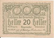 20 Heller (Abetzberg) – avers