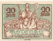 20 Heller (Abtenau) – avers