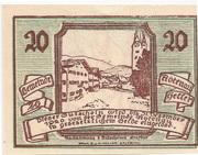 20 Heller (Abtenau) – revers