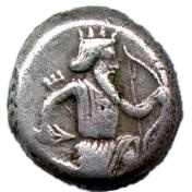 Siglos - Artaxerxes I / Darius III - 465-330 BC (THE ROYAL COINAGE - 4th type) – avers