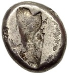 Siglos - Darius II / Artaxerxes II (THE ROYAL COINAGE - 4th type B - middle) – revers