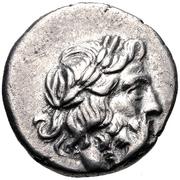 Hemidrachm (Antigoneia) – avers