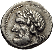 Hemidrachm (Corinth) – avers