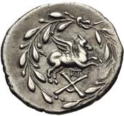 Hemidrachm (Corinth) – revers