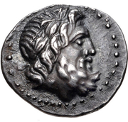 Hemidrachm (Tegea) – avers