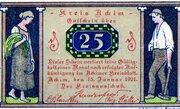25 Pfennig (Achim) – avers