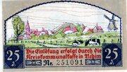 25 Pfennig (Achim) – revers
